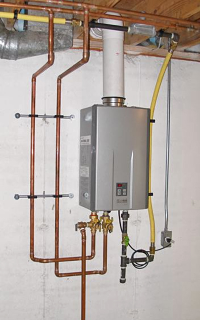 MacombWaterHeatercom Tankless Water Heater Tips