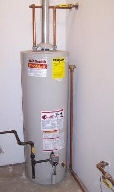 typical gas water heater installation - Gas Water Heater Installation