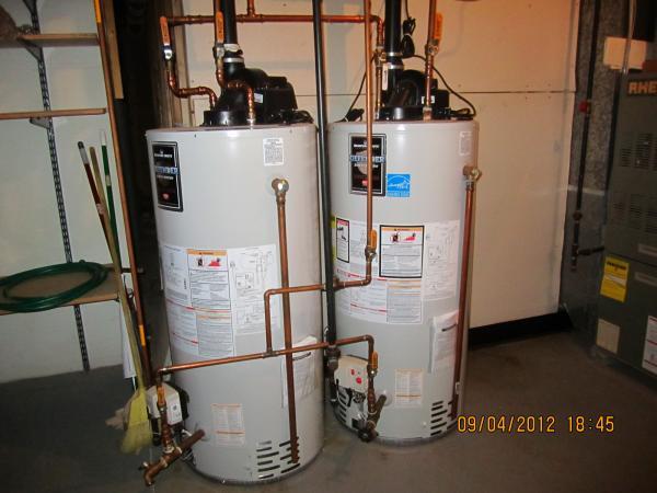 dual gas water heater installation - Gas Water Heater Installation